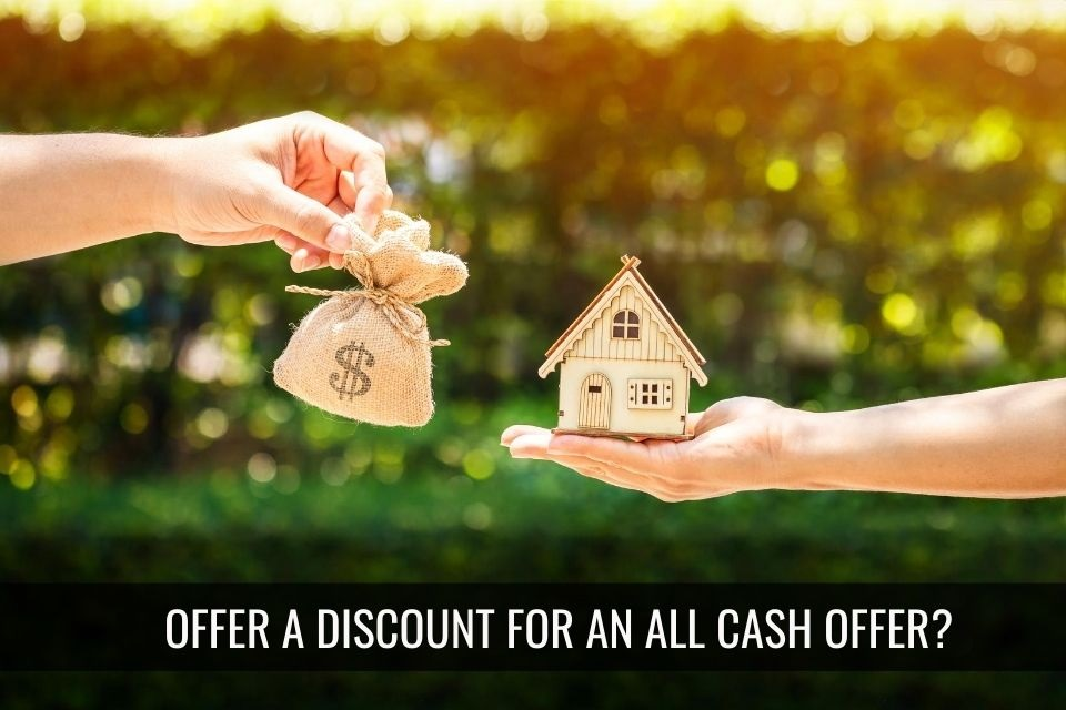 Offering a Discount on Cash Offers