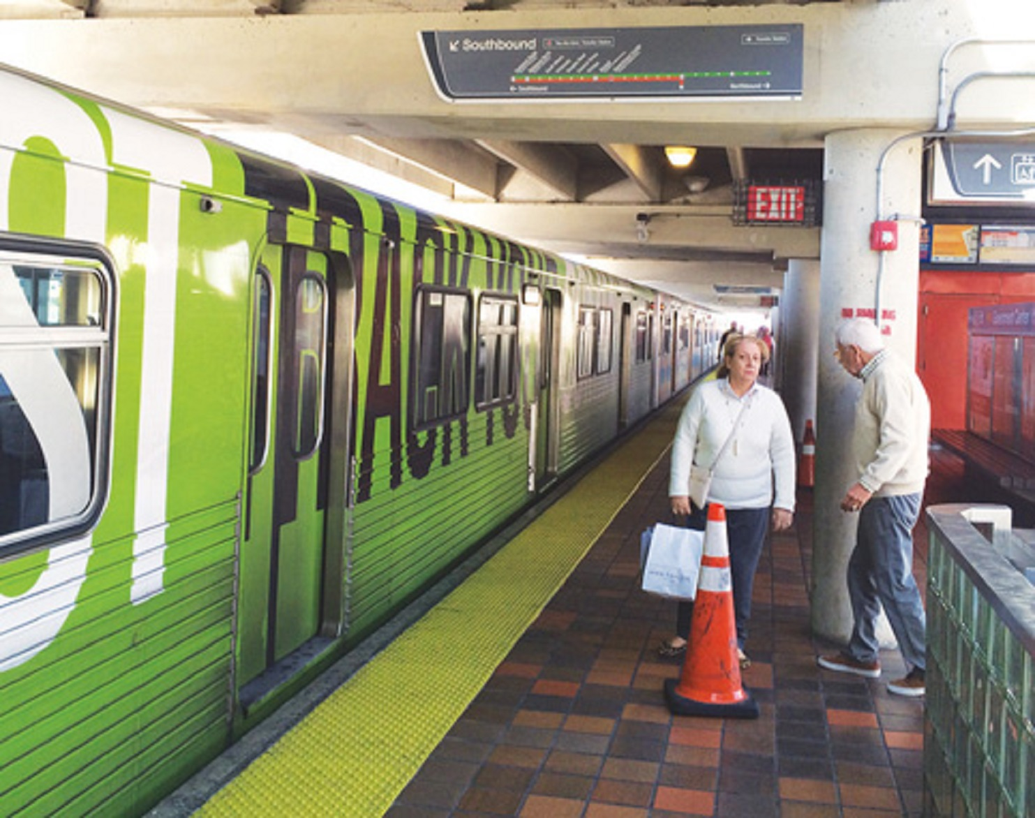Faulty Metrorail Sound Barriers Finally Near Replacement