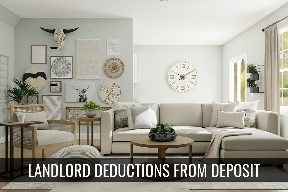 Landlord Deductions from Security Deposits